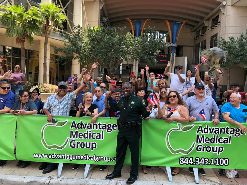 Sheriff Demings participates in the 2nd annual Puerto Rican parade in Orlando