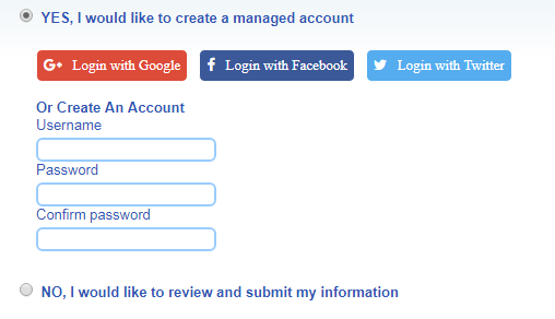 Step 1: Create a managed account for alerts