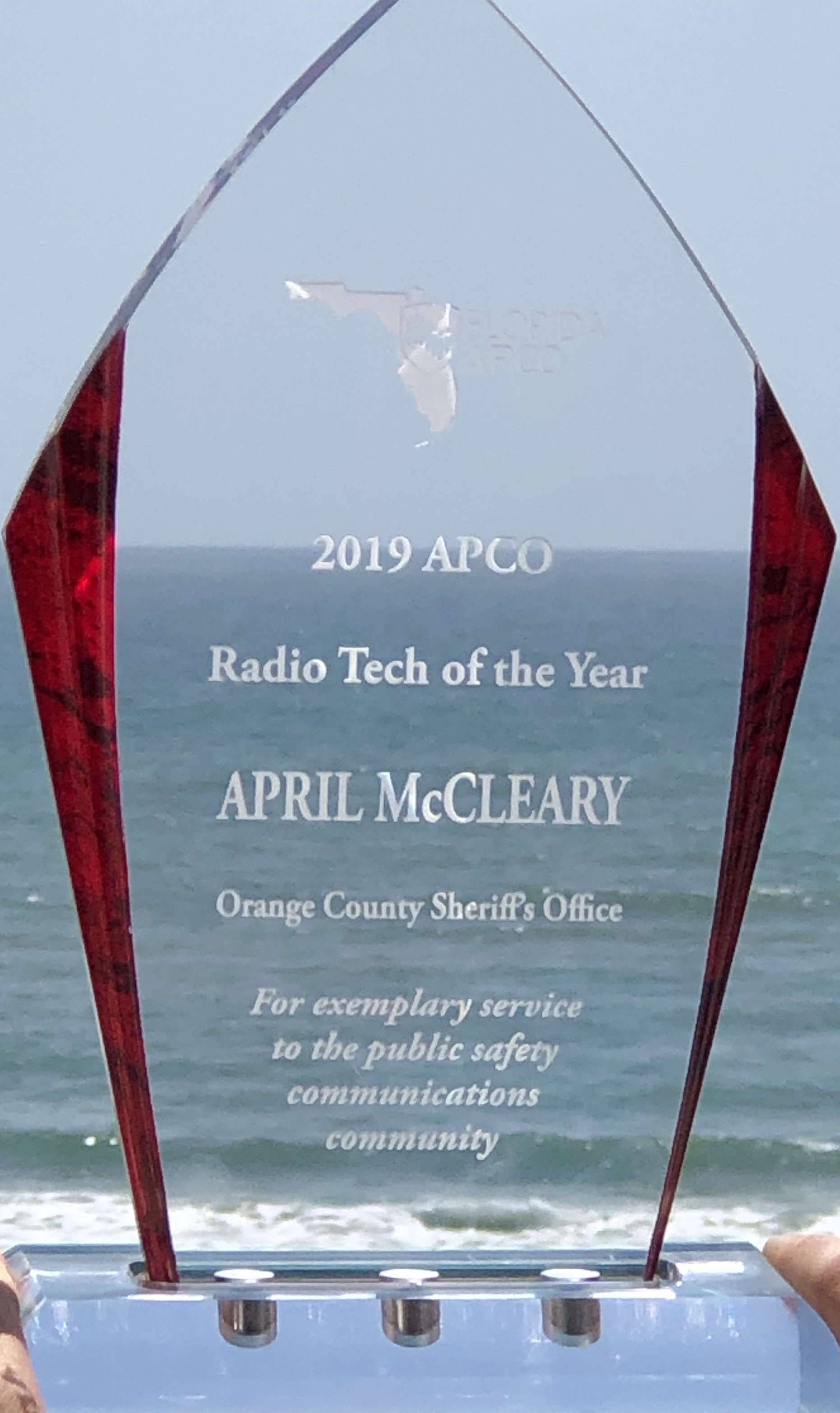Radio Tech of the Year- April McCleary 2019 Award
