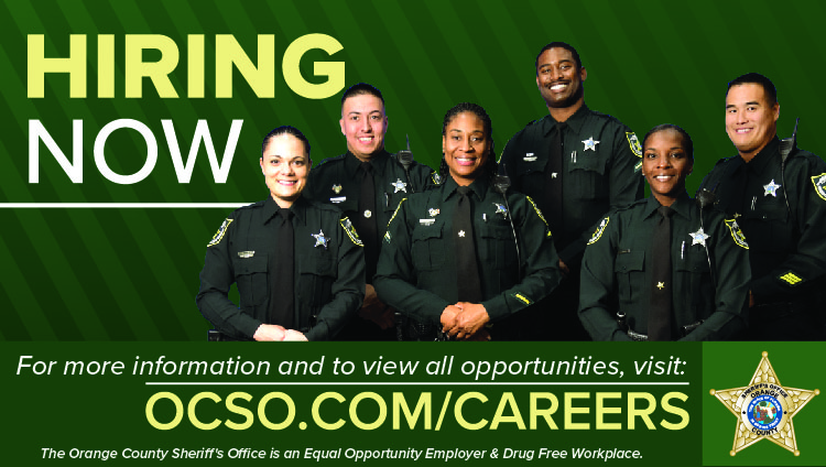 Now Hiring for Sworn and Civilian positions