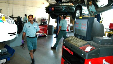 Fleet Management servicing OCSO vehicles