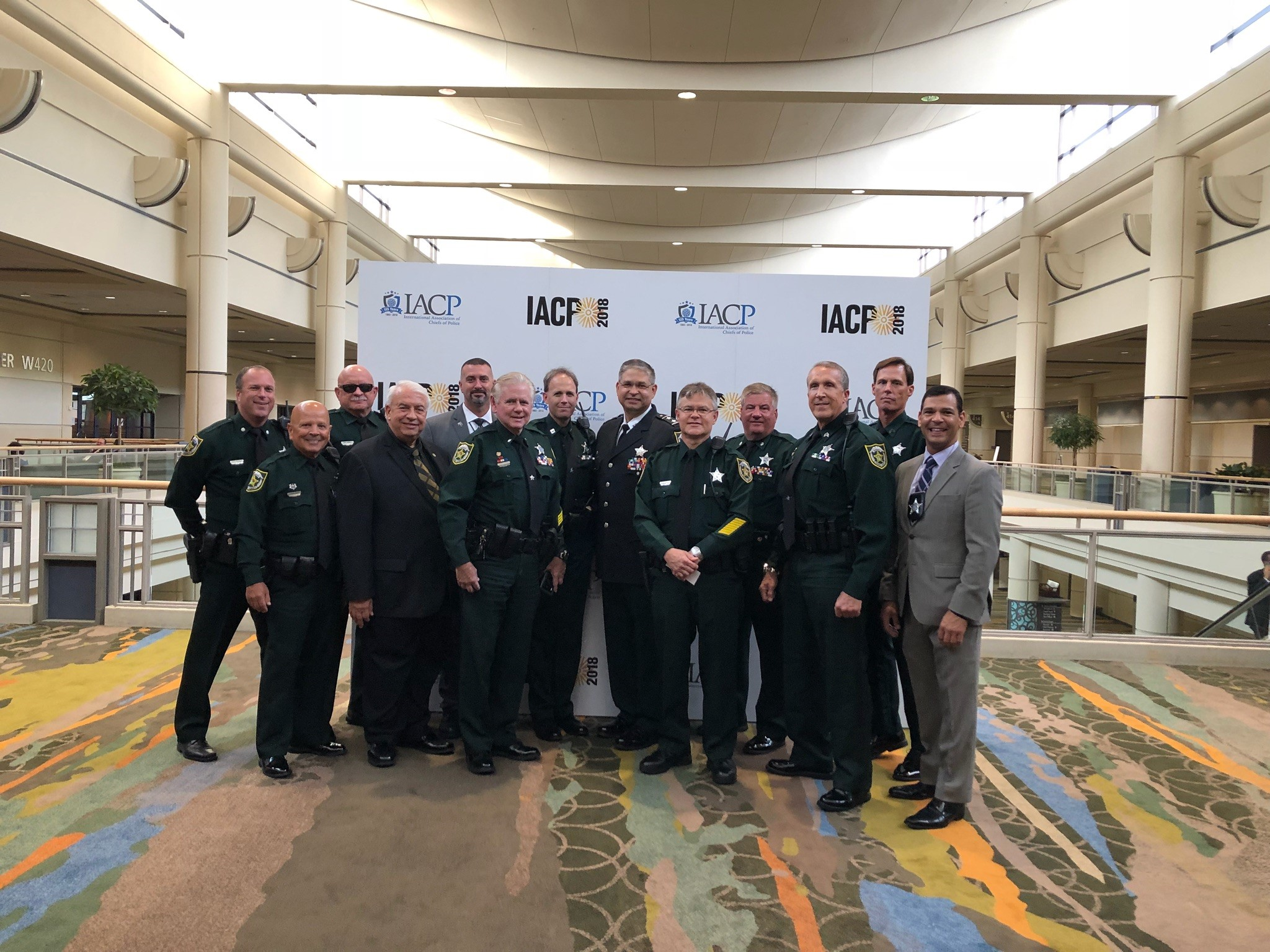 OCSO Reserve Unit receives Leadership in Volunteer Policing Award