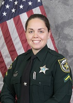 Sector One Crime Prevention Deputy First Class Victoria Santos
