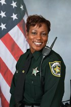 Portrait of Sector 4 Crime Prevention Master Deputy Sherrie Lewis