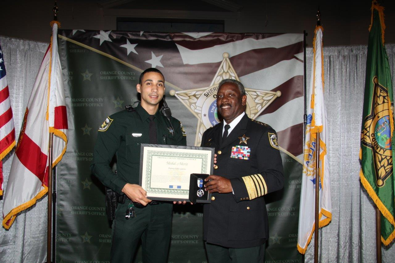 Medal of Merit Recipient Deputy Eddie Garcia