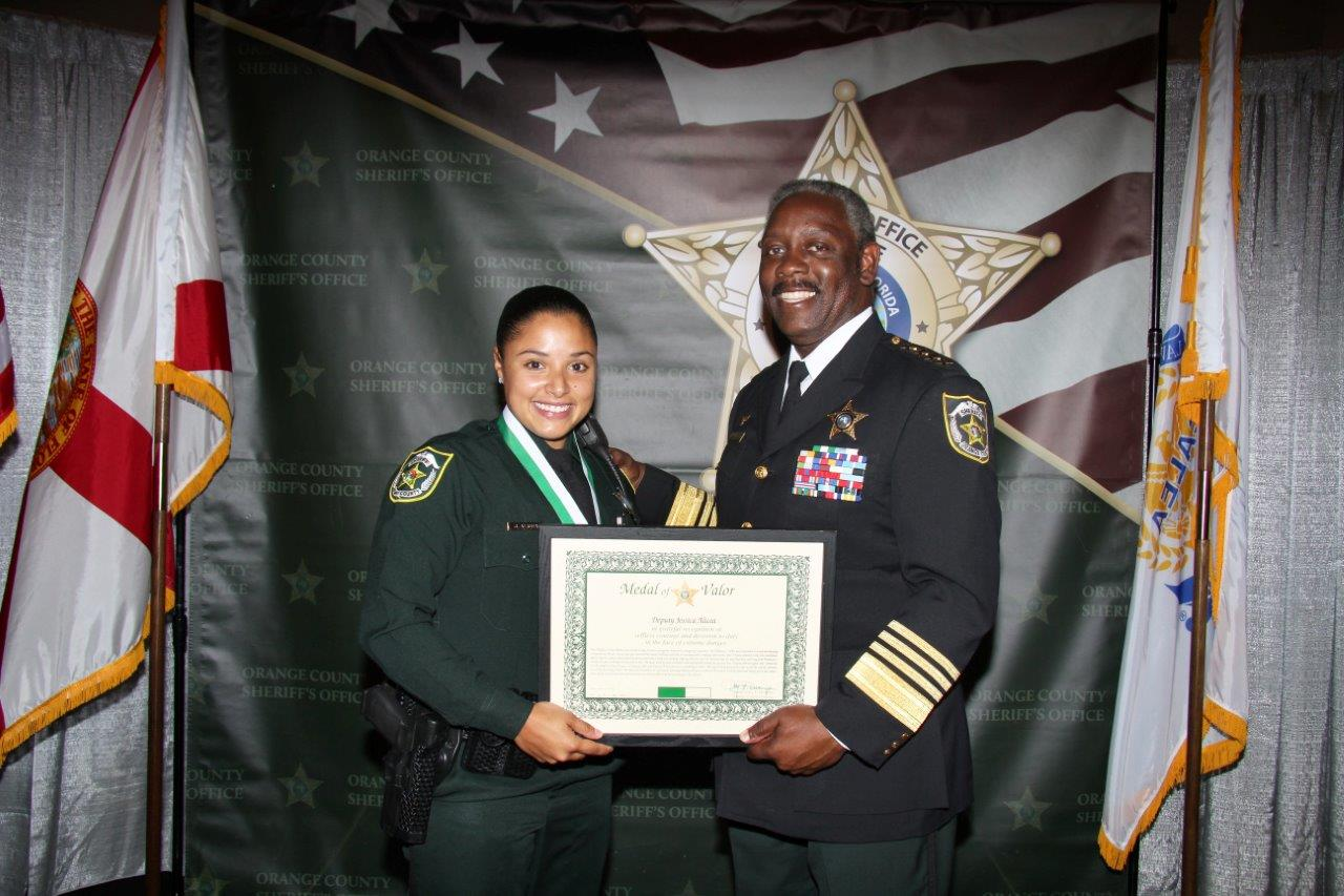 Medal of Valor Recipient Deputy Jessica Alicea