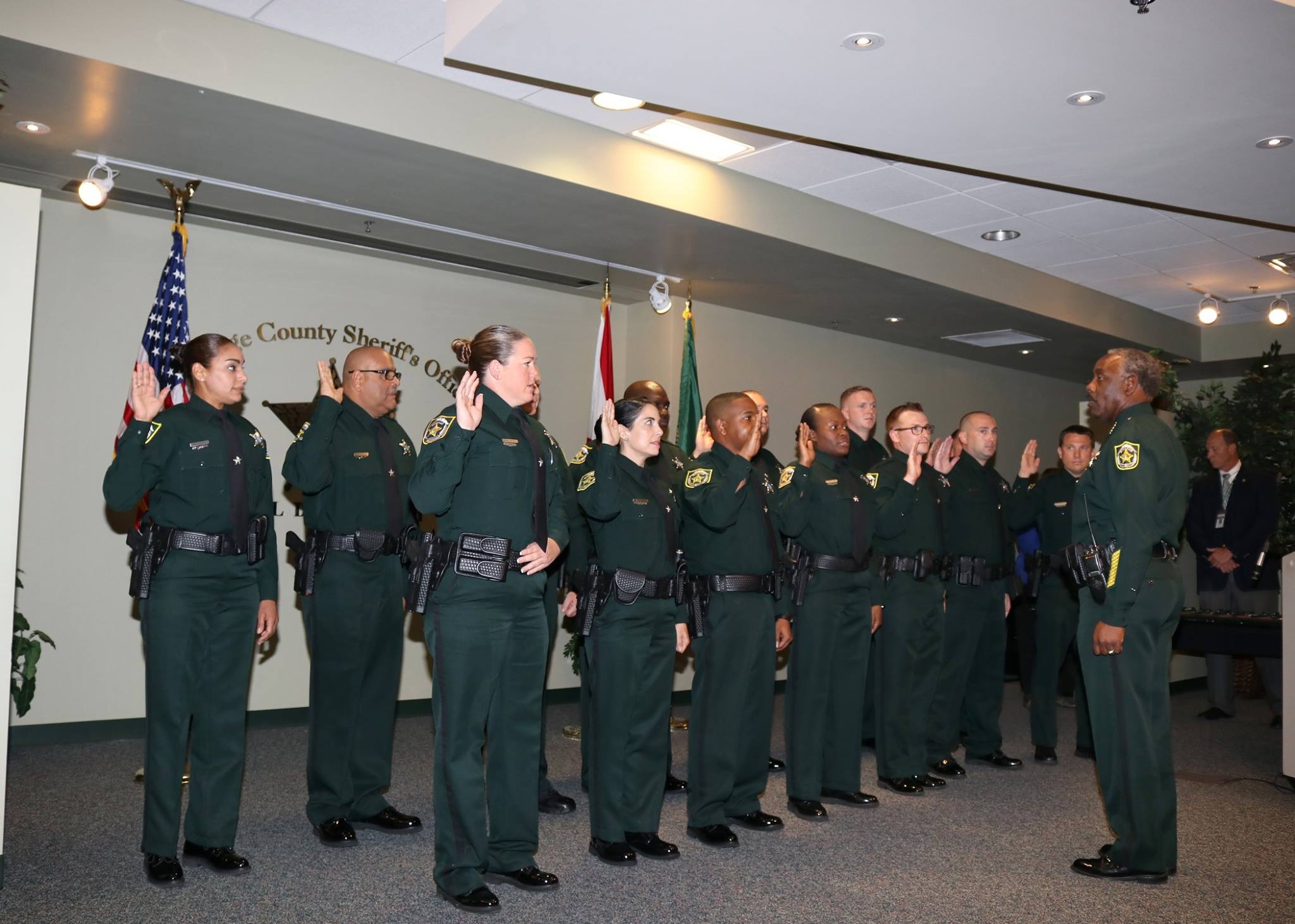 14 new certified deputies sworn-in in August 2018