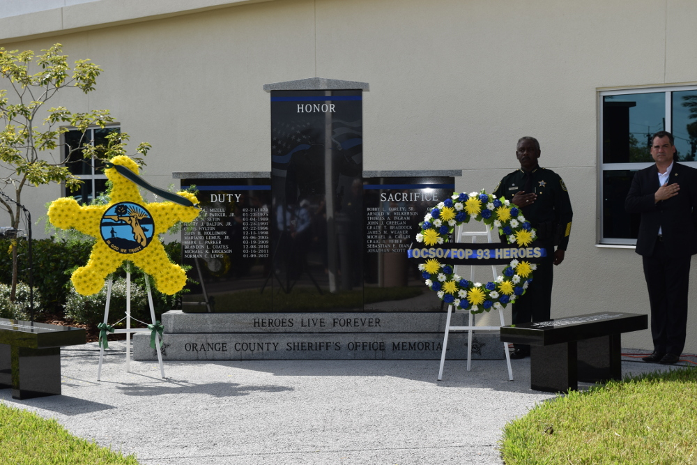 New OCSO Law Enforcement Memorial Monument